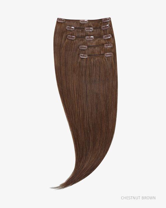 Lidské Clip In Vlasy 35 cm 100g