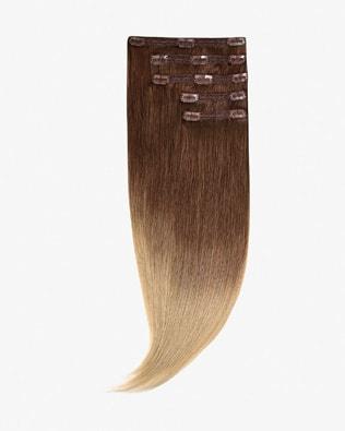 Ombre Clip In Vlasy 50 cm 150g