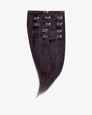 Lidské Clip In Vlasy 25 cm 70g