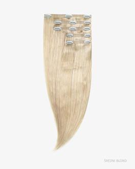 Lidské Clip In Vlasy 40 cm 120g